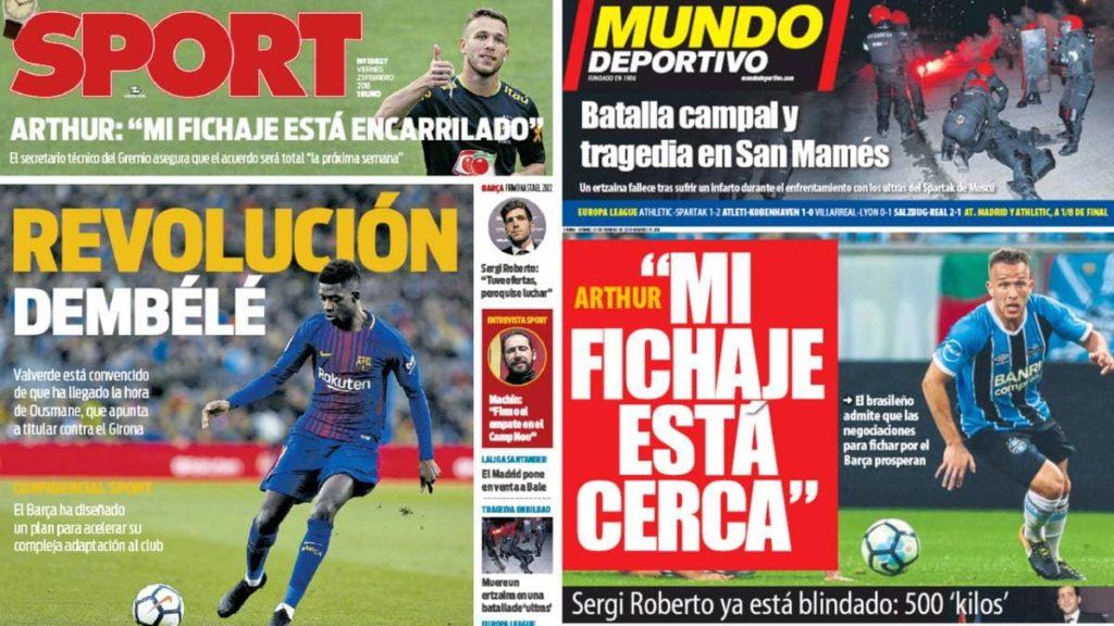 noticias acerca del futbol
