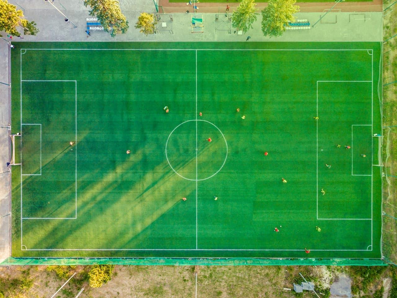 como diseñar una pagina web de futbol